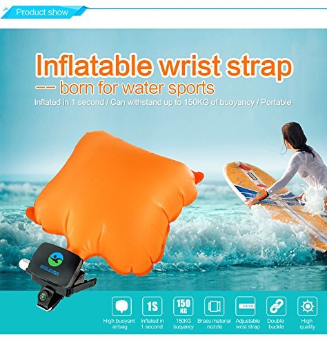 Grandey Portable Swimming Safety Device Inflatable Gasbag Wearable Float Rescue Device&Buoyancy Aid Device Safety in Water for Adult Kids&New Swimmers by Grandey