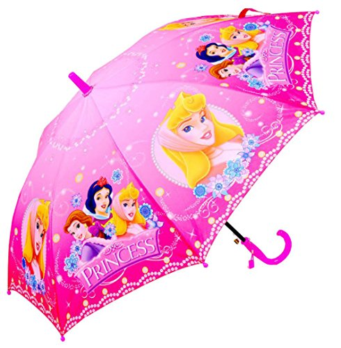 Kid's Cartoon Umbrella Girl's Umbrella Brolly Sun Rain (Princess) ()