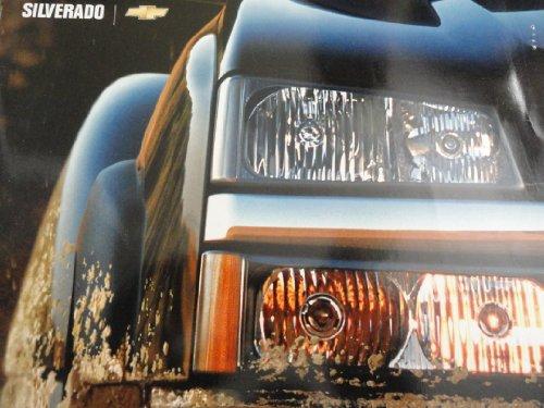 2003 2004 Chevy Chevrolet Silverado Sales Brochure with DVD