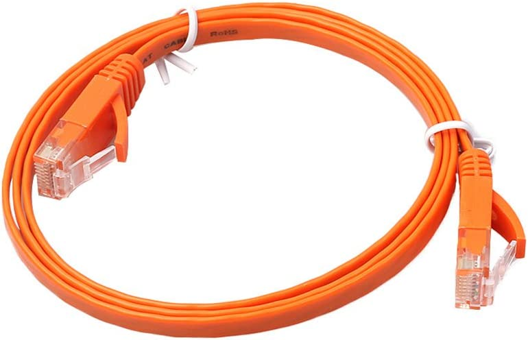 Chg Ethernet CAT6 Red de Internet Cable Plano Cable Patch Patch RJ45 para PC Router