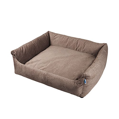 Messy Mutts Divine Bolster Dog Bed with EVERFRESH Probiotic Technology for Natural, Non-Toxic Odor Control, Medium Review