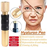 0.3ml Hyaluronic Injection Pen Massage Atomizer Pen Kit High Pressure Acid Guns Remove Wrinkle Water Syringe No Needle Injection