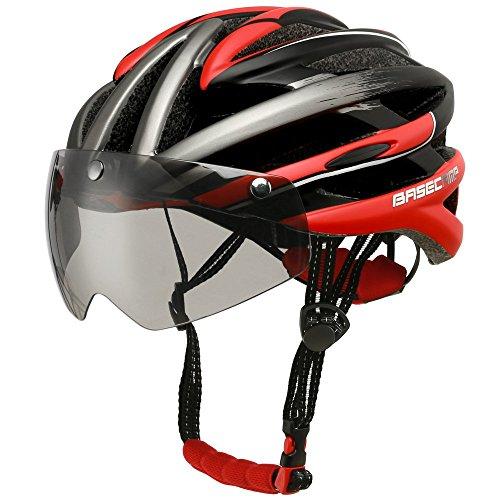 Base Camp Firewall Road Bike Helmet With Detachable