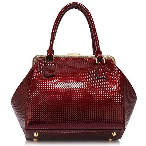 Xardi London - Sacchetto donna Burgundy Style 2