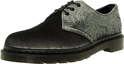 Dr Gris Velvet Femme Martens Chaussures 1461 qqF6zv