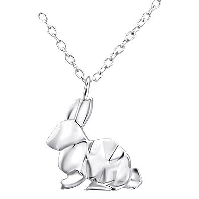Laimons Girls Childrens Earrings Kids Jewellery hare rabbit glossy 925 Sterling silver