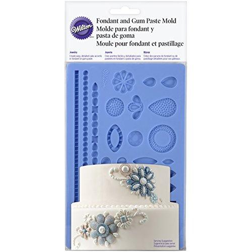 ing Jewelry Fondant Mold, Blue ()