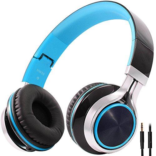 Stereo Bass Over-the-Ear Headphones Headset (Black) - 3