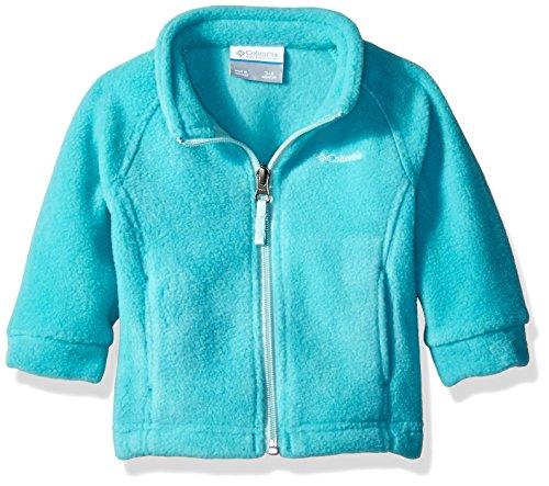 Columbia Baby Girls' Benton Springs Fleece Jacket, Miami, 3-6 Months