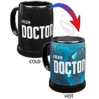 Dr Who Heat Reveal 20oz Coffee Mug / Stein with Doctor Who Logo