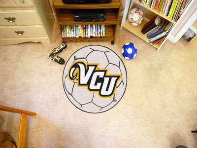 Fanmats Soccer Ball Floor Mat - Virginia Commonwealth University by Fanmats