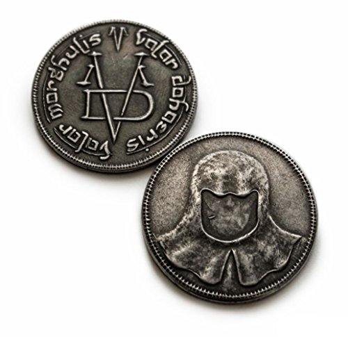 The Iron Coin of The Faceless Man in Pure Iron - Valar Morghulis Coin