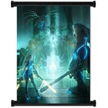 "Final Fantasy VII: Dirge of Cerberus Game Fabric Wall Scroll Poster (16""x21"") Inches"