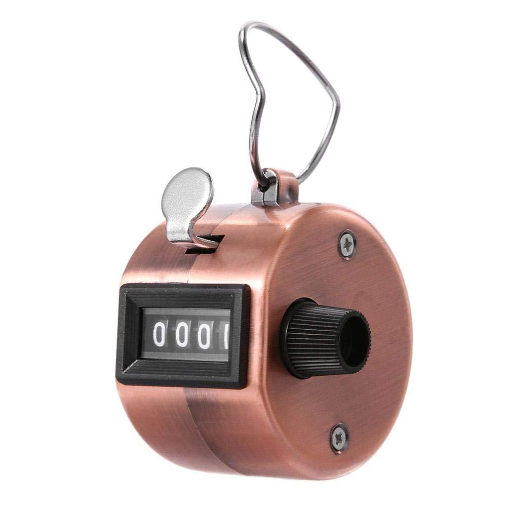 Alloet ミニデジタルハンドタリーカウンター 4桁 数字手動カウントゴルフクリッカー B07GGZWXJ5