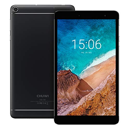 CHUWI Hi8 SE 8.0'' Android 8.1 Tablet PC with 64-bit Quad-core Processor DDR3 2GB/32G,1920 X 1200 IPS Touch Screen, Support BT, OTG, GPS, TF Extend, Dual WiFi Diamond Core 2 Quad