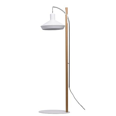 Moderna Lámpara de pie LED compacta 1 focos mattweißer ...