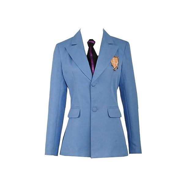 Anime Ouran High School Host Club chaqueta y corbata traje ...