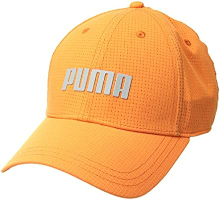4da9c6b911cc0 PUMA Golf 2018 Men's Breezer Hat Small/Medium orange: Amazon.com ...