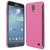 Skinomi TechSkin - Samsung Galaxy Mega 2 Screen Protector + Pink Carbon Fiber Full Body Skin/ Front & Back Wrap / Premium HD Clear Film / Invisible & Anti Bubble Shield