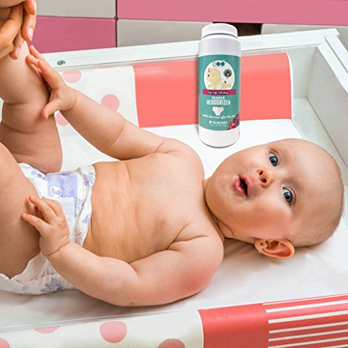 Doo Drops Diaper Odor Eliminator with Easy Applicator- Uses Safe and Powerful Deodorizer, Floral Scents, and Baking Soda to Absorb and Coat Odors - up to 150 Uses by Doo Drops (Image #3)