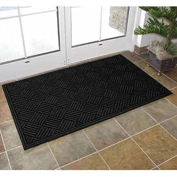 Amazon Com Apache Mills Eco Mat Squares Entrance Door Mat