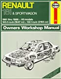 Haynes Renault 18i and Sportwagon Owners Workshop Manual, 1981-1986, Fowler, John, 185010333X