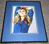 Paulina Gretzky SEXY Signed Framed 8x10 Photo AW Wayne Gretzky Daughter