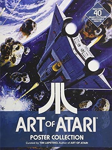 Art of atari array art of atari poster collection tim lapetino 9781524103026 amazon rh fandeluxe Images