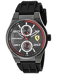 Ferrari Men's 830356 Analog Display Quartz Black Watch