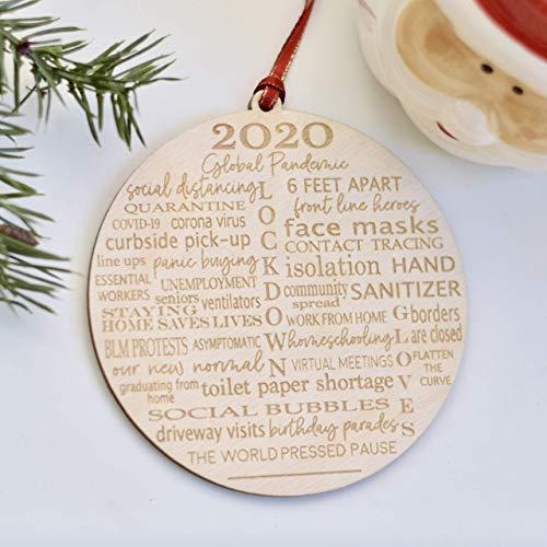 2020 Nsa Christmas Ornament Amazon.com: 2020 Pandemic Christmas Ornament: Handmade