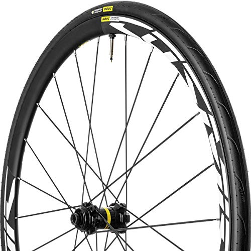 Mavic Cosmic Elite UST Disc Wheel Black, Front, 12x100, CL