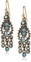 1928 Jewelry Moroccan Chandelier Earrings