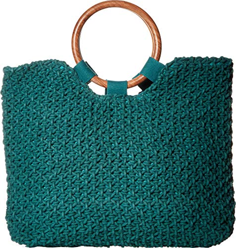 Circus by Sam Edelman Susannah Macrame Satchel, Forest Green
