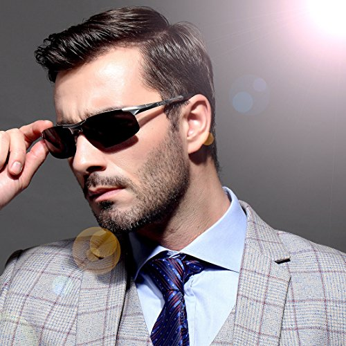 b55784d5c56 ATTCL Men s HOT Fashion Driving Polarized Sunglasses for Men Al-Mg Metal  Frame Ultra Light