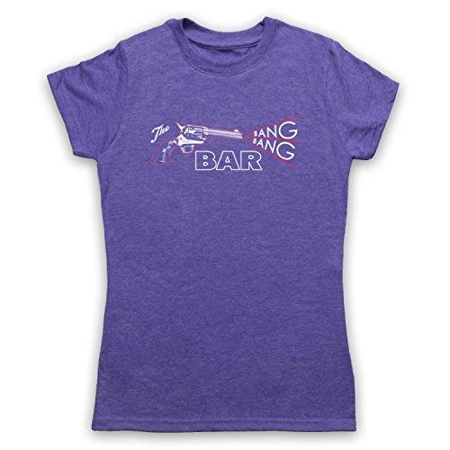 Twin Peaks The Bang Bang Bar Camiseta para Mujer Morado Clásico