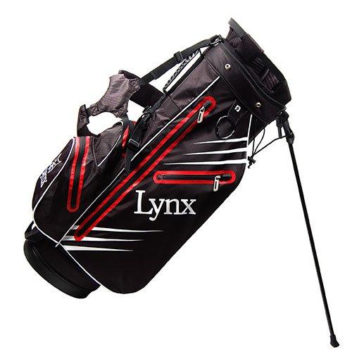Lynx New Predator Golf Stand Bag (Red/Black)