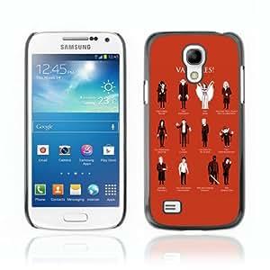 CaseCaptain Carcasa Funda Case - Samsung Galaxy S4 MINI / Cool Vampire Types /