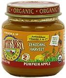 Earth's Best Organic Seasonal Harvest Baby Food, Pumpkin Apple, 4 Ounce (Pack of 12)