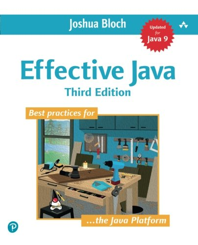 Effective Java (3rd Edition) by Addison-Wesley Professional