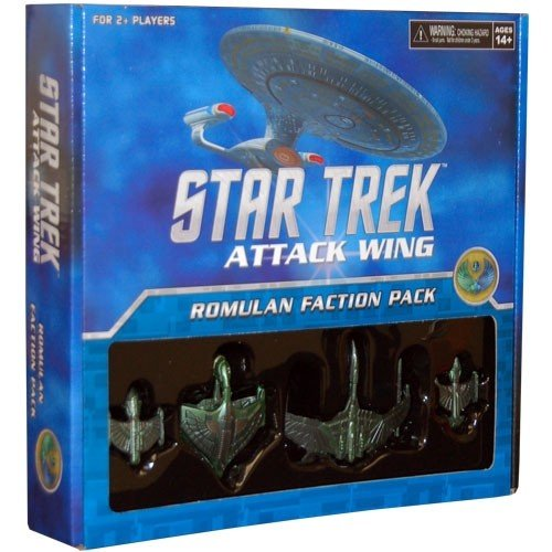 Star Trek Attack Wing: Romulan Faction Pack 1