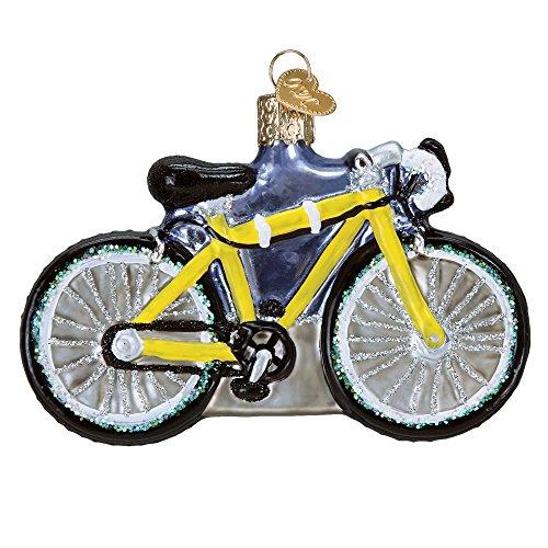 Old World Christmas Glass Blown Ornament Road Bike (46067)