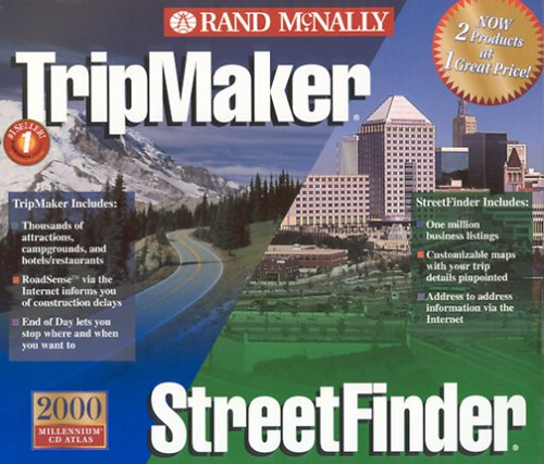Rand Mcnally TRIPMAKER/STREETFINDER 2000 Value Pack