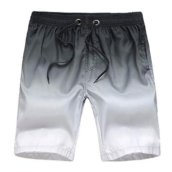 DAHDXD Tamaño Gordo Traje de baño Hombres Pantalones Cortos ...