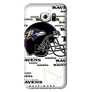 Allan Diy S6 case cover, NFL - Baltimore Ravens - Blast - Samsung Galaxy JvsgqSw0a95 S6 case cover - High Quality PC case cover