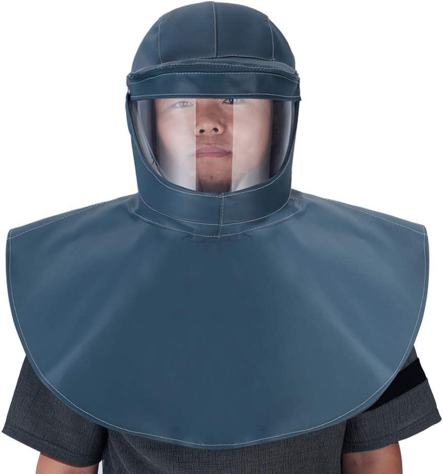 SDBRKYH Química de la Capilla de protección, protección Ocular Equipo de Protección Personal mascarilla Facial Protectora para el Sello Gas Productos Químicos