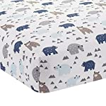 Lambs-Ivy-Signature-Montana-6-Piece-Baby-Crib-Bedding-Set-BlueGreyBrown-Bears-and-Mountains