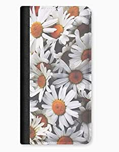 Daisy Flowers Floral Indie Girls Kids Pattern iPhone 5c Leather Flip Case