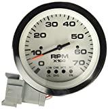 Sierra International 64477Fp Lido Johnson/Evinrude Electric Tachometer, 3''