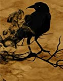 The Crows Notebook Large Size 8.5 x 11 Ruled 150 Pages