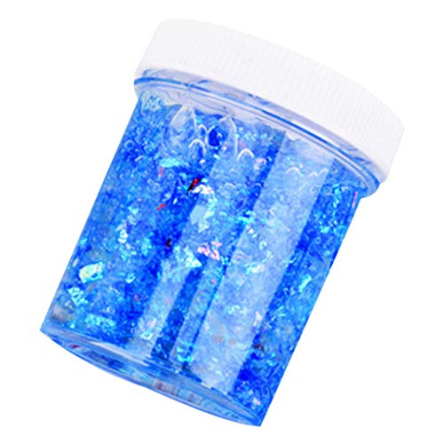 DIGOOD Butter Birthday Contton Candy Slime, Floam Slime Stress Relief Scented Putty Sludge Toy Blue